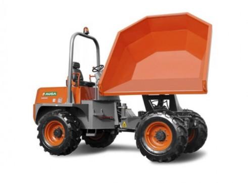 Ausa Site Dumper - 10t Swivel Dump Truck 4