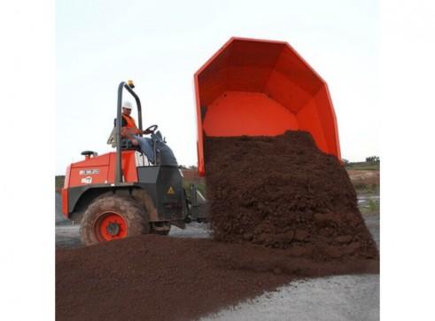 Ausa Site Dumper - 10t Swivel Dump Truck 5