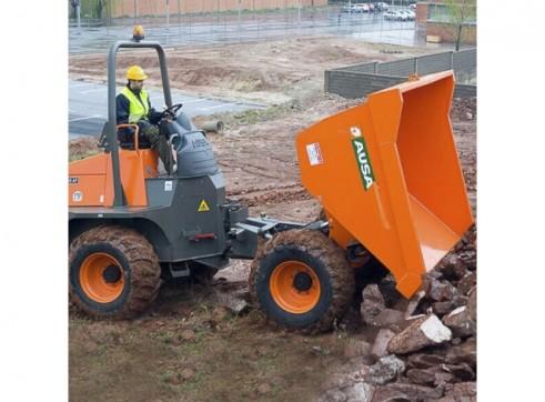 Ausa Site Dumper - 10t Swivel Dump Truck 6
