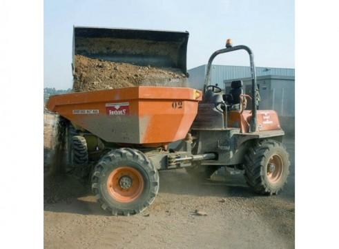 Ausa Site Dumper - 6t Swivel Dump Truck 4