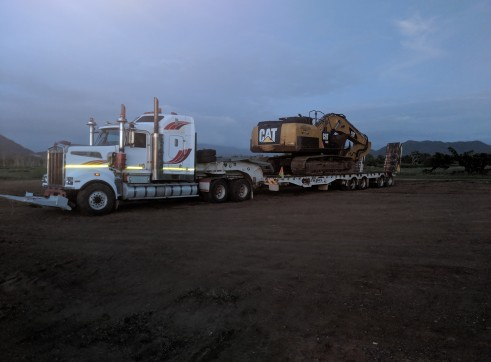Quad Axle Widening Float & Dolly 2