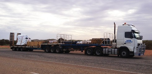 B Doubles and Single Trailer Transport 1