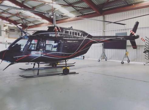 Bell 206B-3 Jet Ranger Helicopter 4