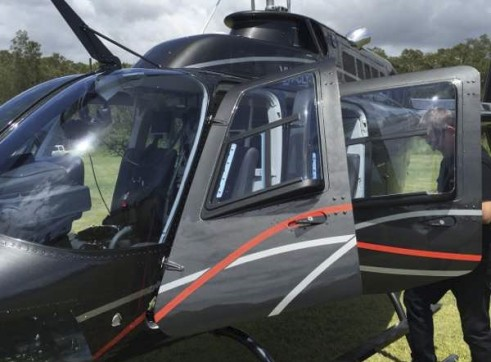 Bell 206B-3 Jet Ranger Helicopter 2