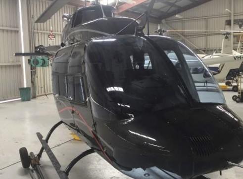 Bell 206B-3 Jet Ranger Helicopter 5