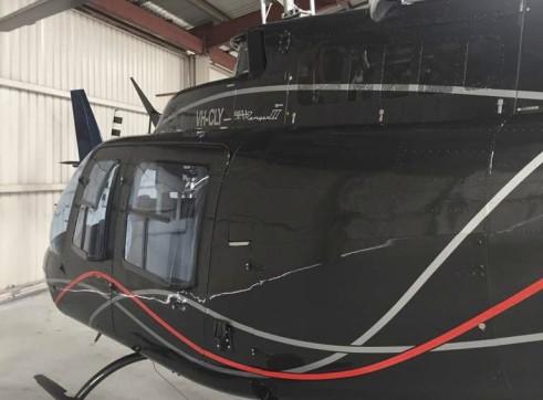 Bell 206B-3 Jet Ranger Helicopter 6