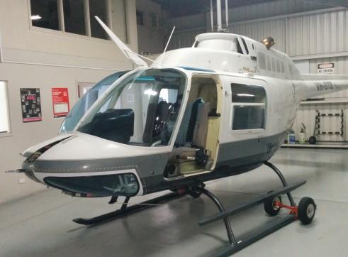 Bell206 Jetranger Helicopter 3