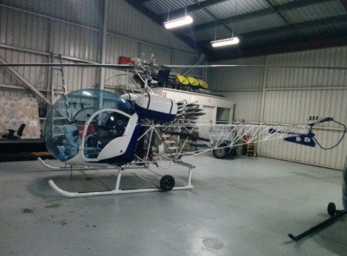 Bell47 Helicopter 1