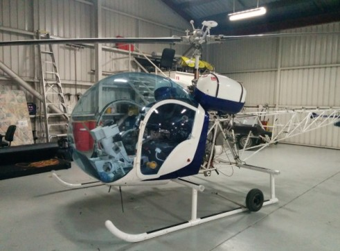 Bell47 Helicopter 2
