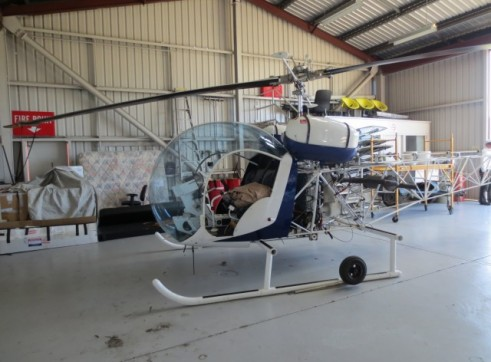 Bell47 Helicopter 3