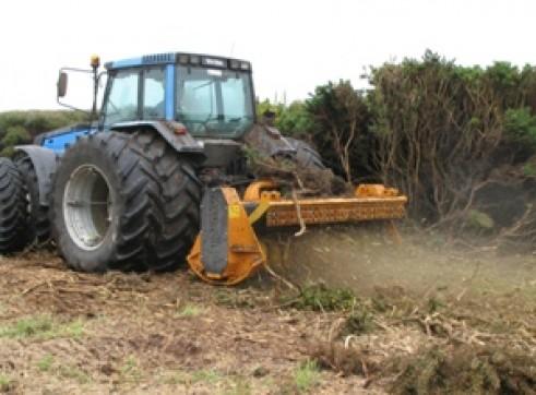 Berti ECF 250 Mulcher, Forestry  2