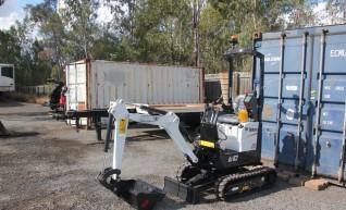 Bobcat E10 1 tonne excavator Dry Hire 1