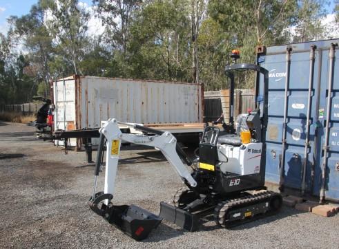 Bobcat E10 1 tonne excavator Dry Hire
