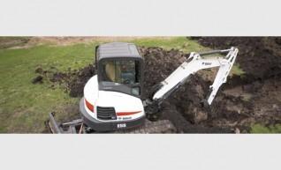 Bobcat E55 Excavator 1