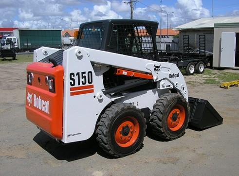 Bobcat S150 A/C Skid Steer Loader  2