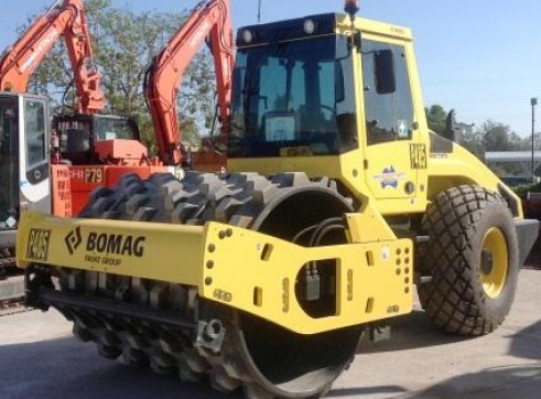 Bomag 120 Padfoot Roller 1
