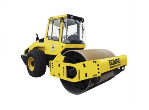 Bomag 13t Single Drum Smooth Roller 1