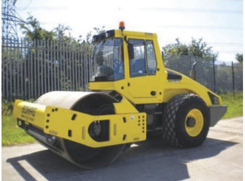 Bomag 13t Single Drum Smooth Roller 3