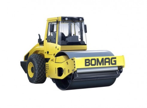 Bomag 15t Single Drum Smooth Roller 1