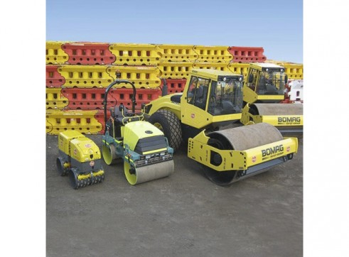 Bomag 15t Single Drum Smooth Roller 2