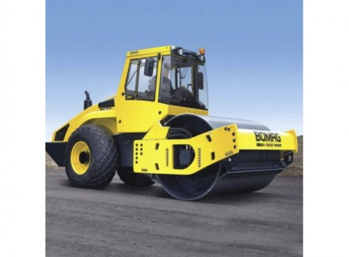 Bomag 15t Single Drum Smooth Roller 3