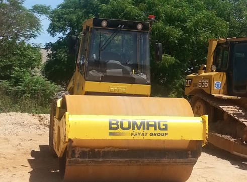 BOMAG BW213D-4 12T Smooth Drum Roller 1