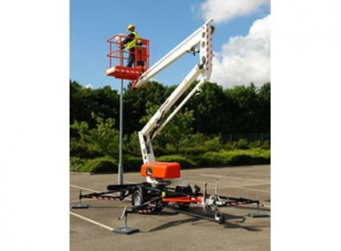 Boom Lift - 10.9m (Trailer Mounted)