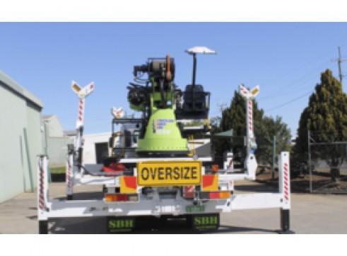 Crane Lifter Borer Truck 2