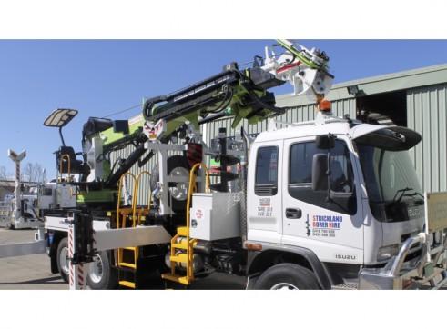 Crane Lifter Borer Truck 4