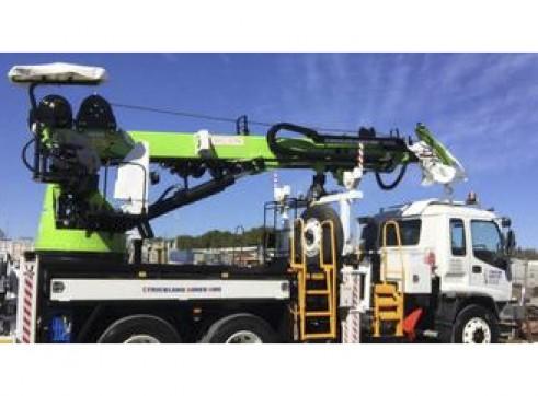 Crane Lifter Borer Truck 5