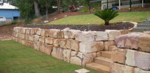 Boulder/Retaining Walls 1