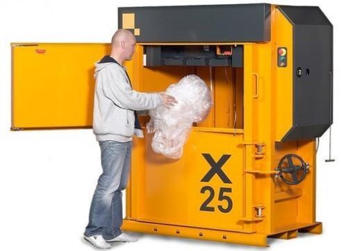 Bramidan X50 Vertical Baler | Heavy Duty Compaction | Great for Cardboard & Plastic 2