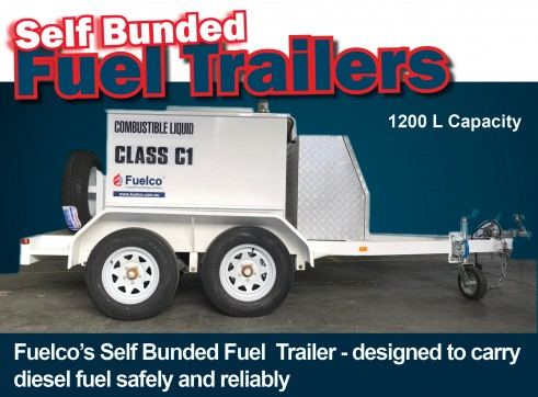 Bunded Fuel  Trailer - designed to carry diesel fuel safely and reliably 4