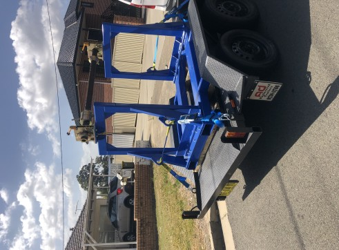 Cable stand trailer 2
