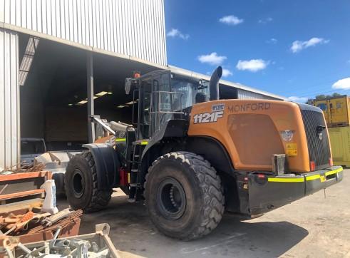 Case 1121F wheel loader 3