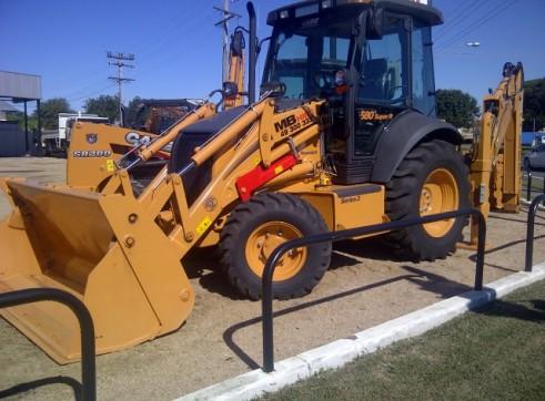 Case 580SR Loader backhoe 1