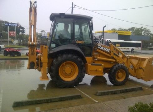 Case 580SR Loader backhoe 2
