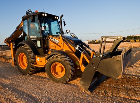 CASE 580ST Backhoe 1