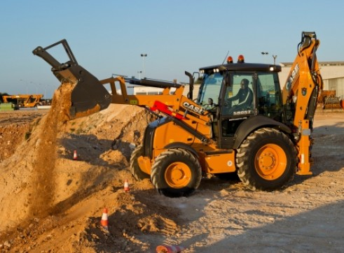 CASE 580ST Backhoe 2