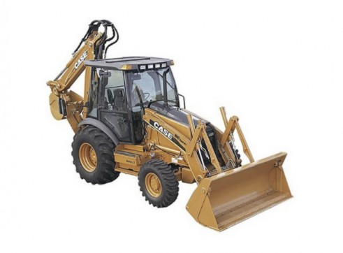 Case 590SR Loader Backhoe 1