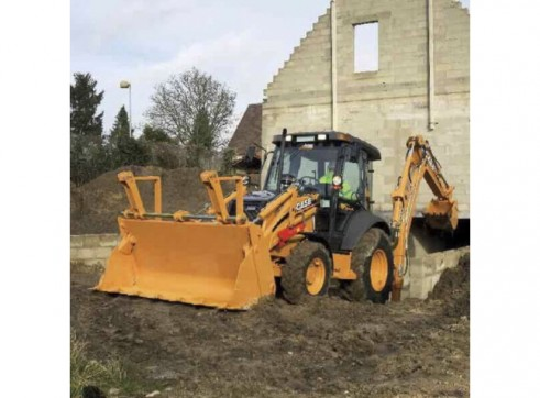 Case 590SR Loader Backhoe 2