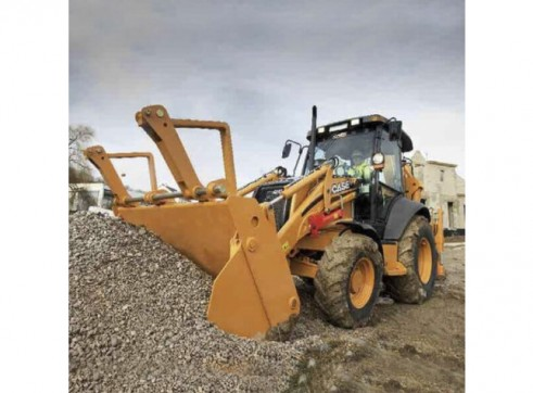 Case 590SR Loader Backhoe 3