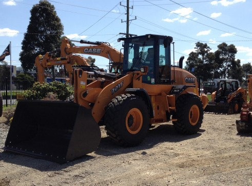 CASE 721F Wheel Loader