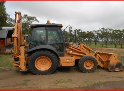 Case Backhoe 580 series 1