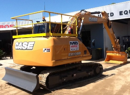 Case CX130B 13T Excavator 1