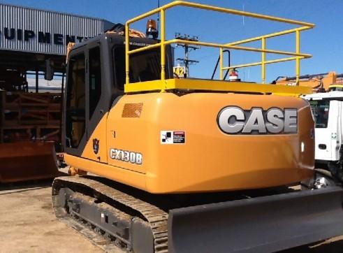 Case CX130B 13T Excavator 3