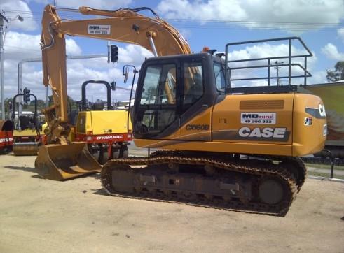 Case CX160B Excavator 1