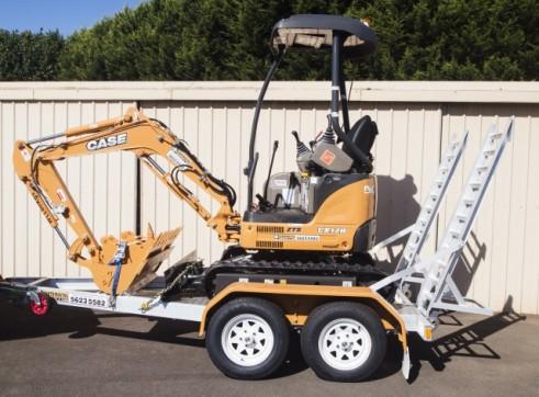 CASE CX17B Mini Excavator 1