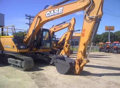 Case CX210B 21 Ton Excavator 1