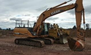Case CX210B Excavator 1